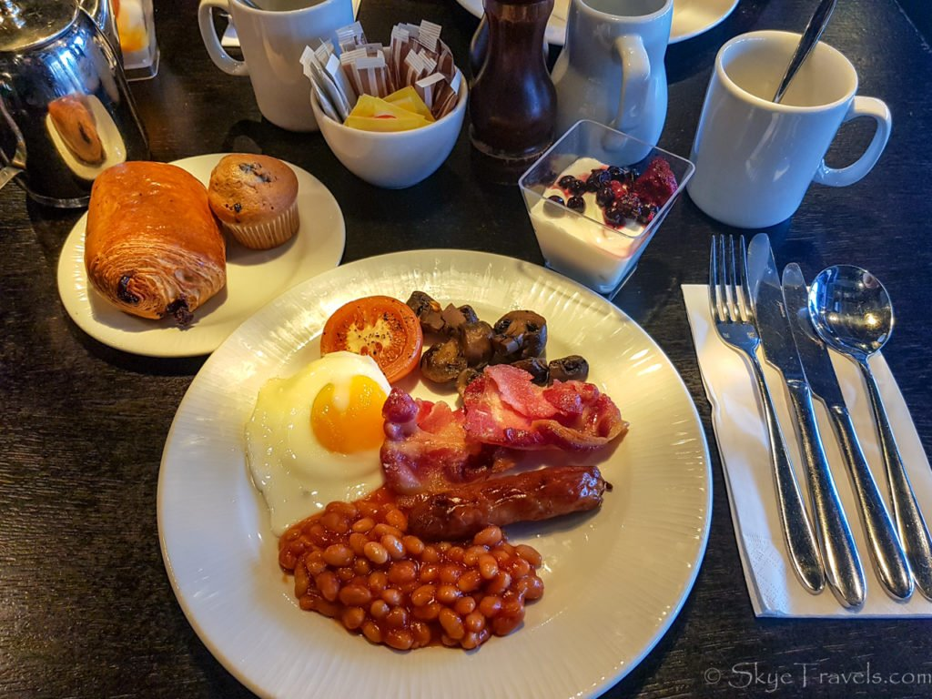 Village Hotel Breakfast