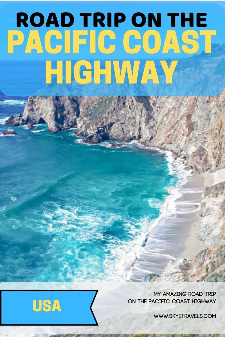 Ever want to take a road trip down the PCH? Here\'s my five-day journey on the Pacific Coast Highway you can use as a rough guide. #PCH #PacificCoastHighway #BigSur #RoadTrip #WestCoast #WestCoastUSA #Devil\'sPunchbowl #SaburoSushi #Tilllamook